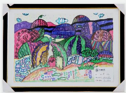首届海峡两岸儿童绘画交流展评选投票