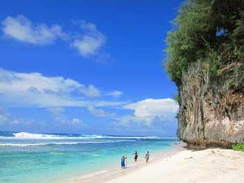 海滩地标:星沙海滩(原名丘鲁海滩)