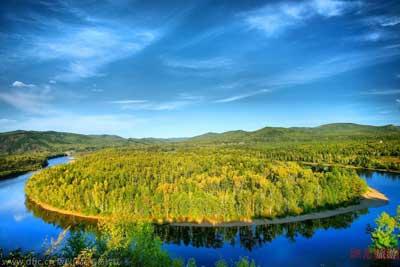 巍巍兴安岭,积粹大森林.大兴安岭的林地有730万公顷,森林覆盖率达74.图片