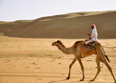 同于阿拉伯半岛大部分地区的热带沙漠气候
