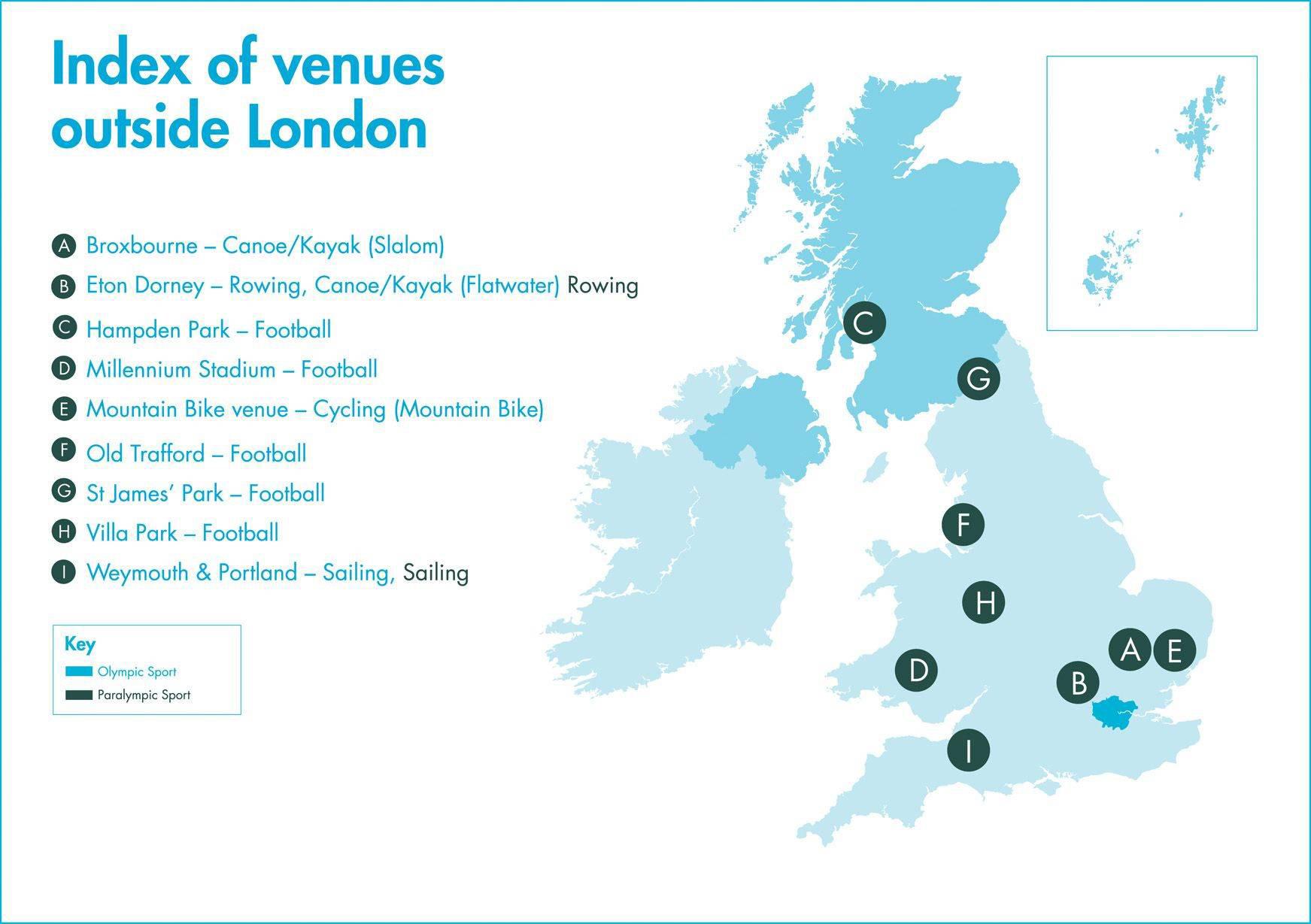 英国场馆地图图片